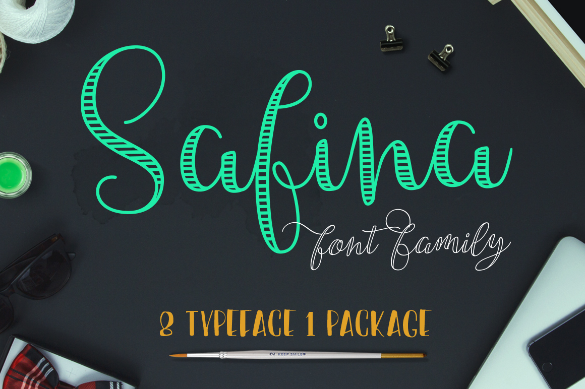 Safina Font Family by JROH Creative