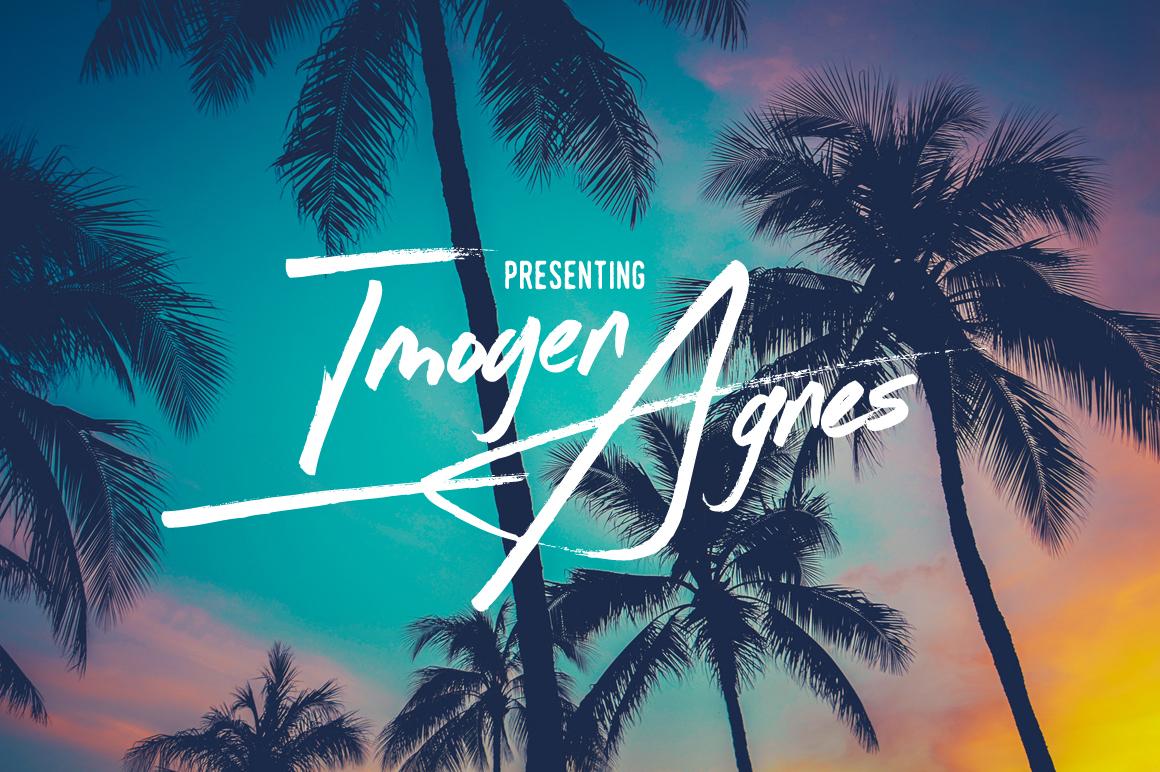 Imogen Agnes: A Script Font by Set Sail Studios