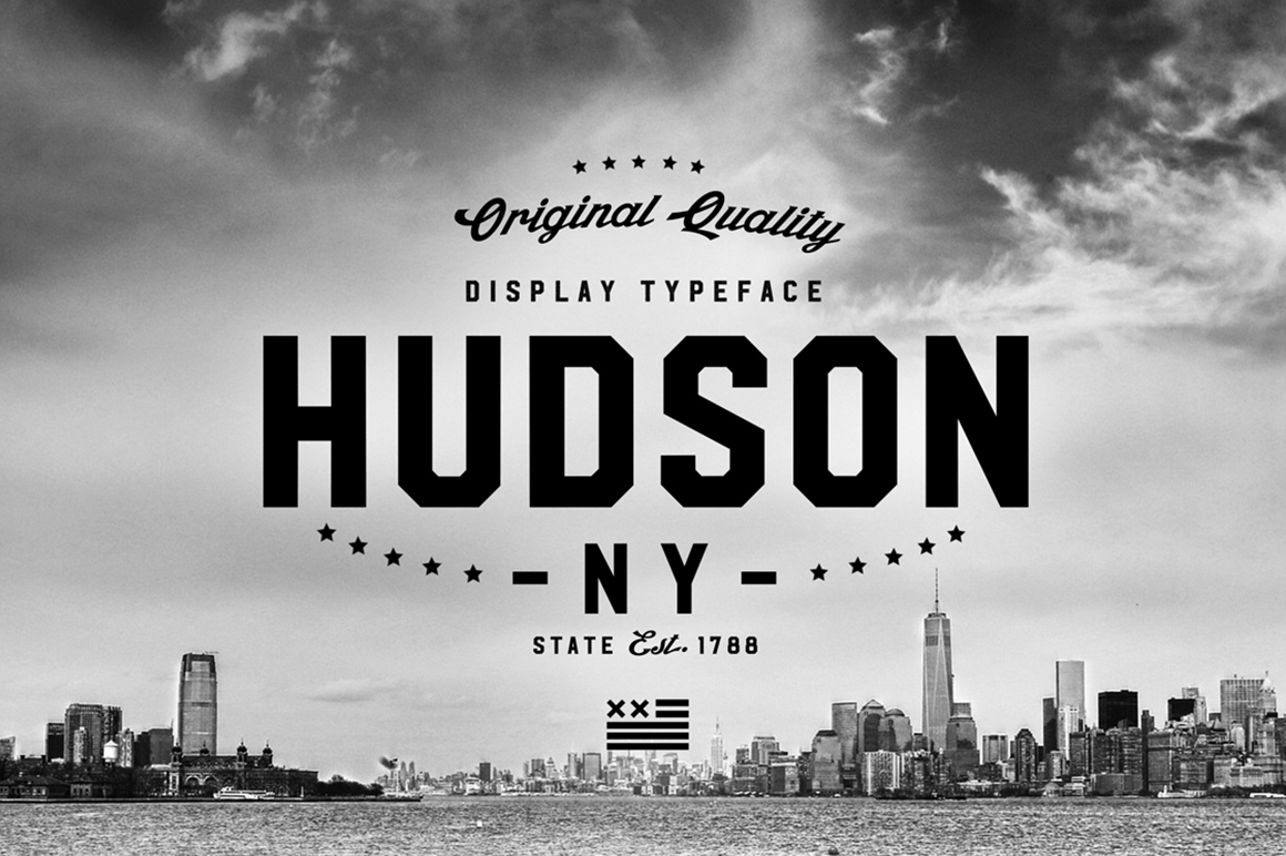 Hudson NY Font by Andrew Footit