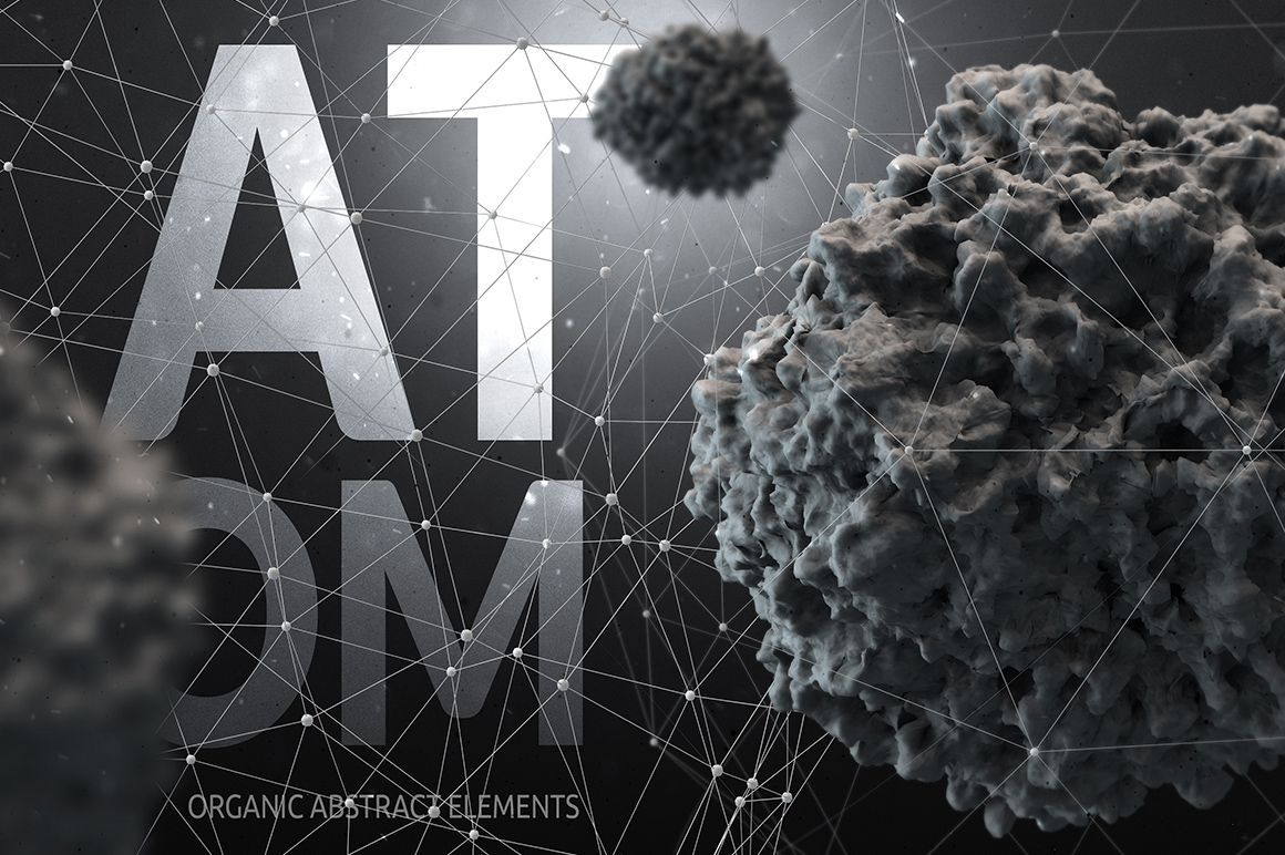 Atom | Organic Abstract Elements by DesignSomething
