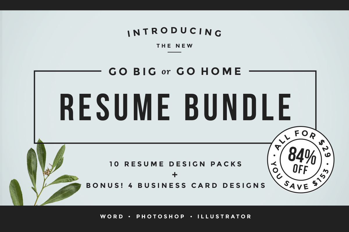 Buy The Resume Bundle by Refinery Resume Co.