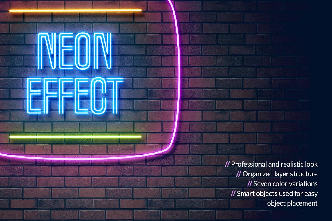 Neon Light Effect by Erigon