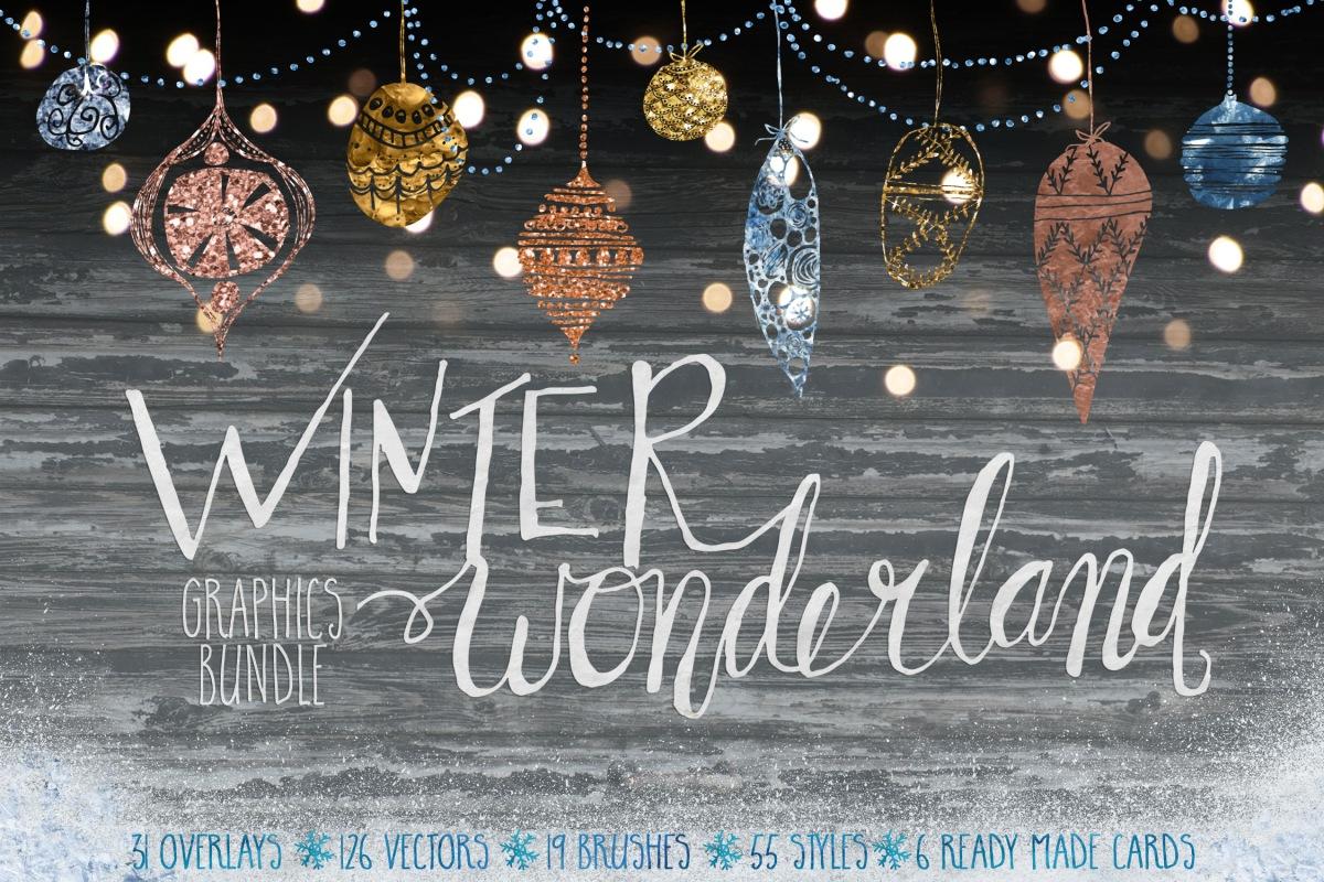 Off Winter Wonderland Graphics Bundle by Studio Denmark
