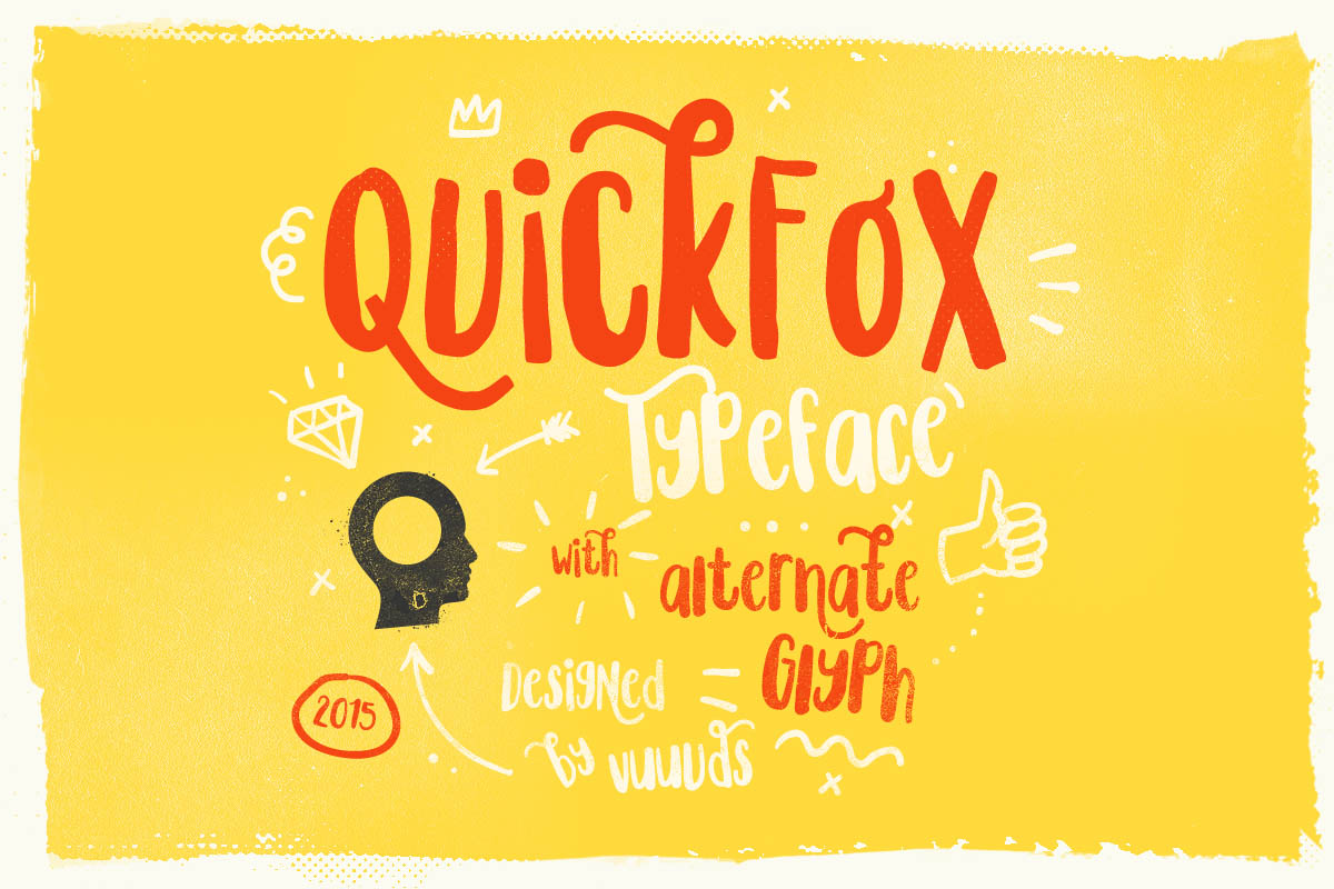 Buy Quickfox Typeface by vuuuds