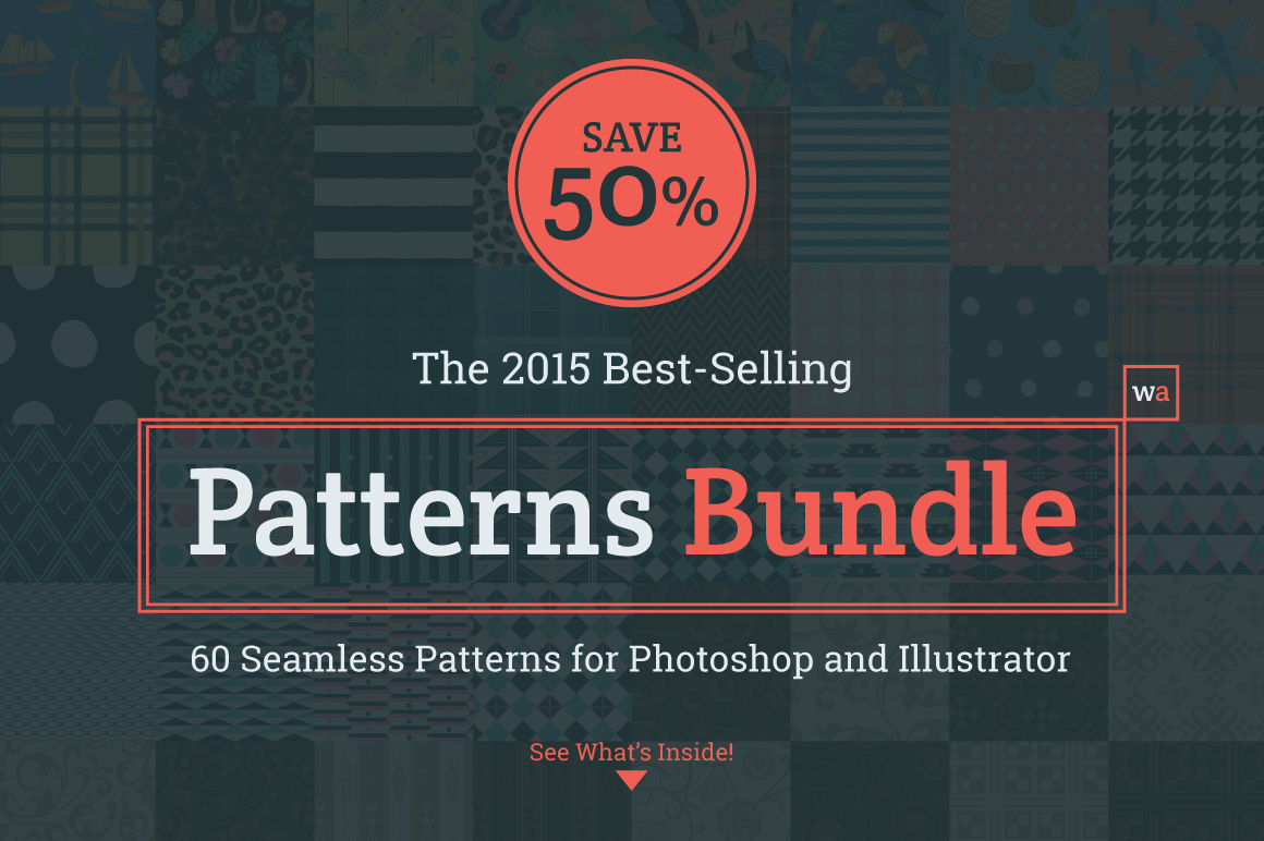 2015 Best-Selling Patterns Bundle by wingsart