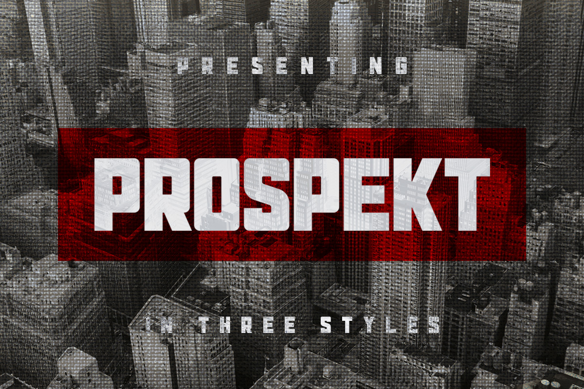 Buy Prospekt Typeface by Tugcu Design Co.