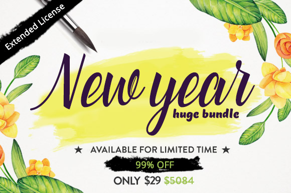 The New Year Huge Bundle by thefancydeal