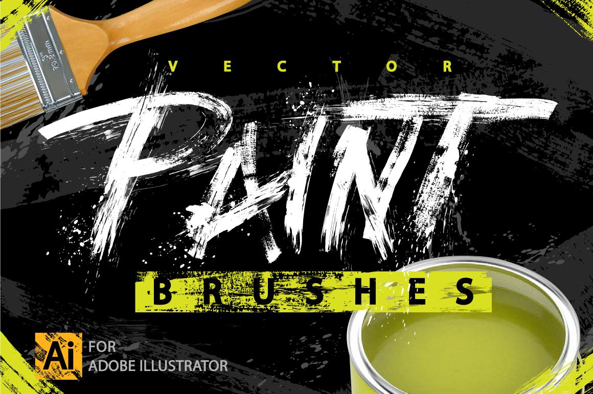Handmade Paint Strokes & Splatters