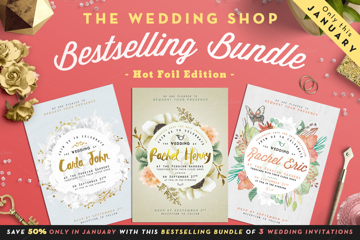 The Wedding Shop Bestselling Bundle