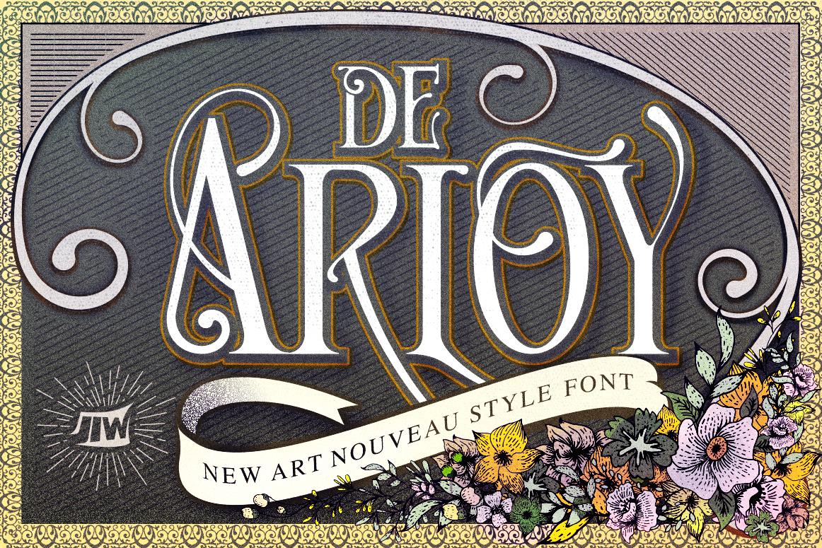 De Arloy Typeface by Jiw