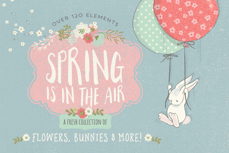 The Fresh Spring Graphics Collection by Lisa Glanz