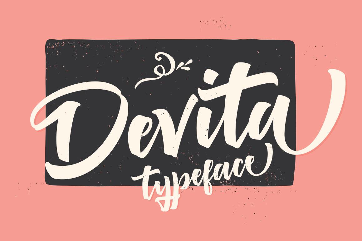 Deviate Script Font by mysunday