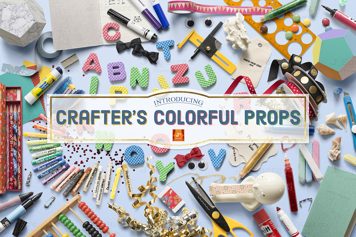Crafter's Colourful Props by JSquarePresents