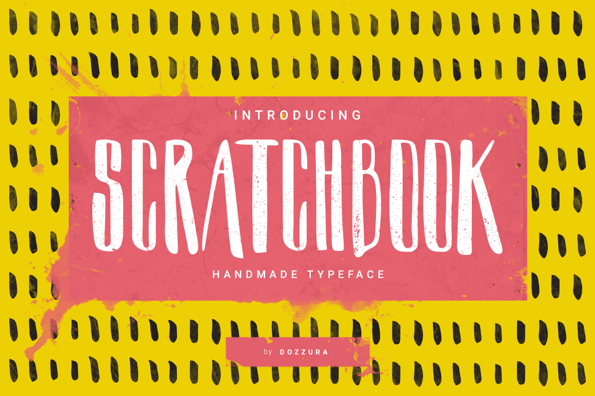Scratchbook Typeface by DOZZURA