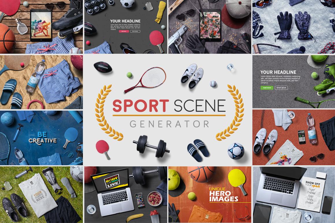 Sport Scene Generator by h3design