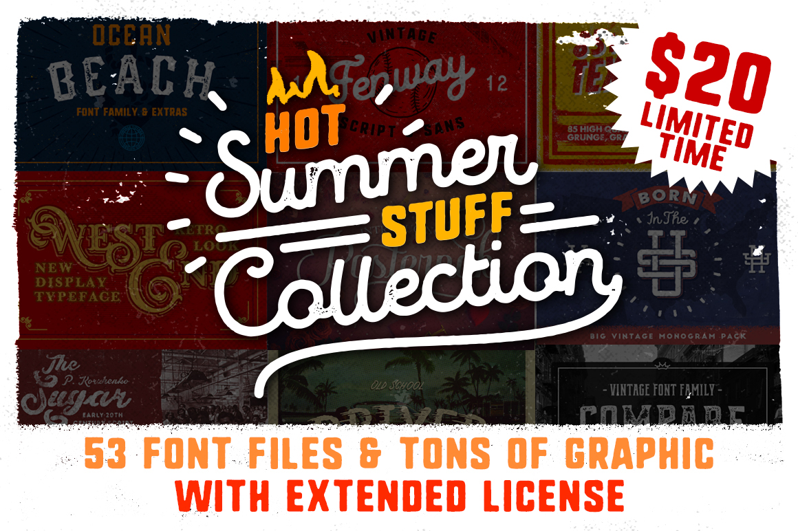 90% OFF SUMMER PACK with Extended License