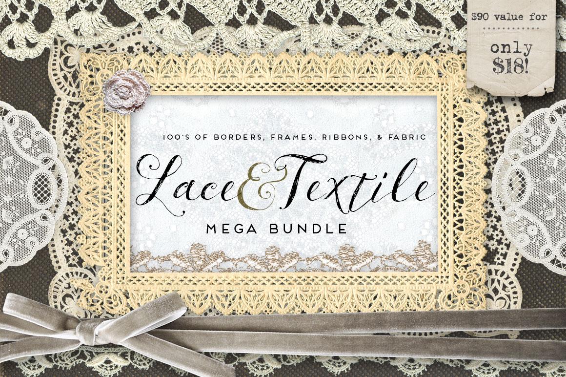 Lace & Textile Mega Bundle by Eclectic Anthology