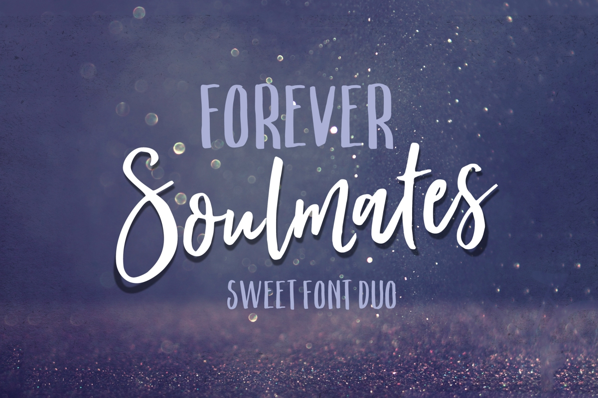 Forever Soulmates Font Duo by Nicky Laatz