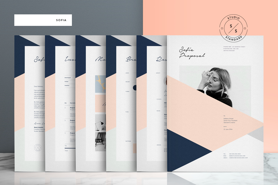 Sofia Pitch Templates Pack by Studio Standard