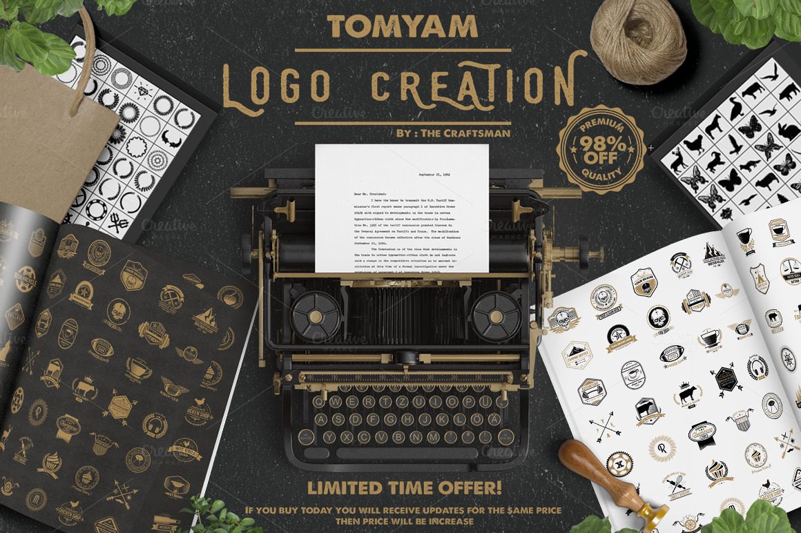 The Complete Logo Creation Kit by The Craftsman