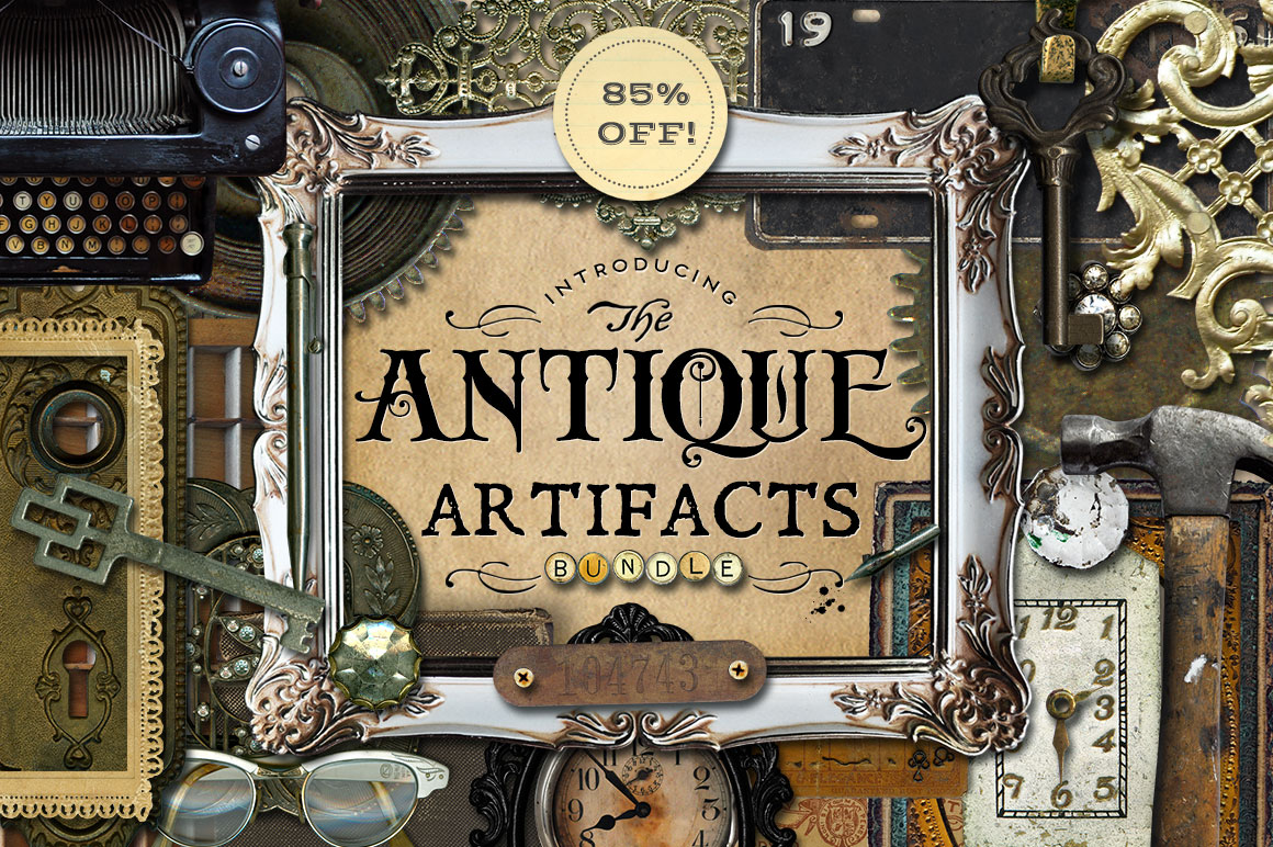Amazing Antique Artefacts Bundle by Eclectic Anthology