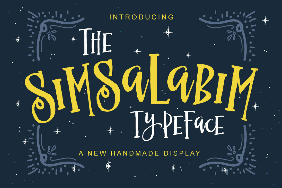 by Fusion LabsSimsalabim Handmade Typeface by Fusion Labs