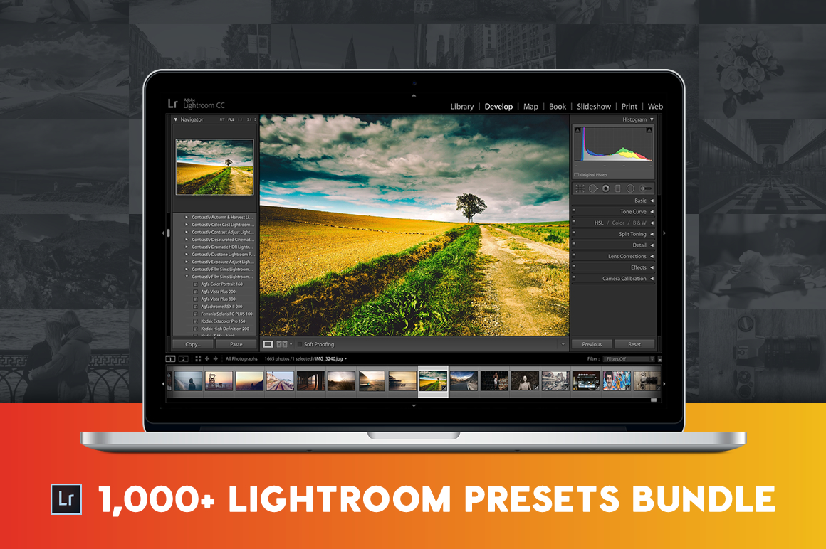 1000+ Pro Lightroom Presets Bundle by Contrastly Shop
