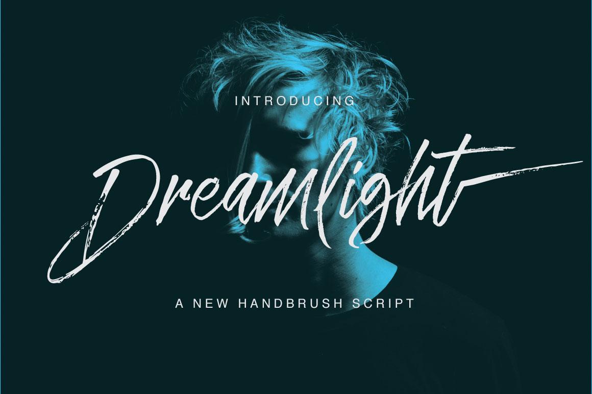 Buy Dreamlight Hand-written Script by QueenType