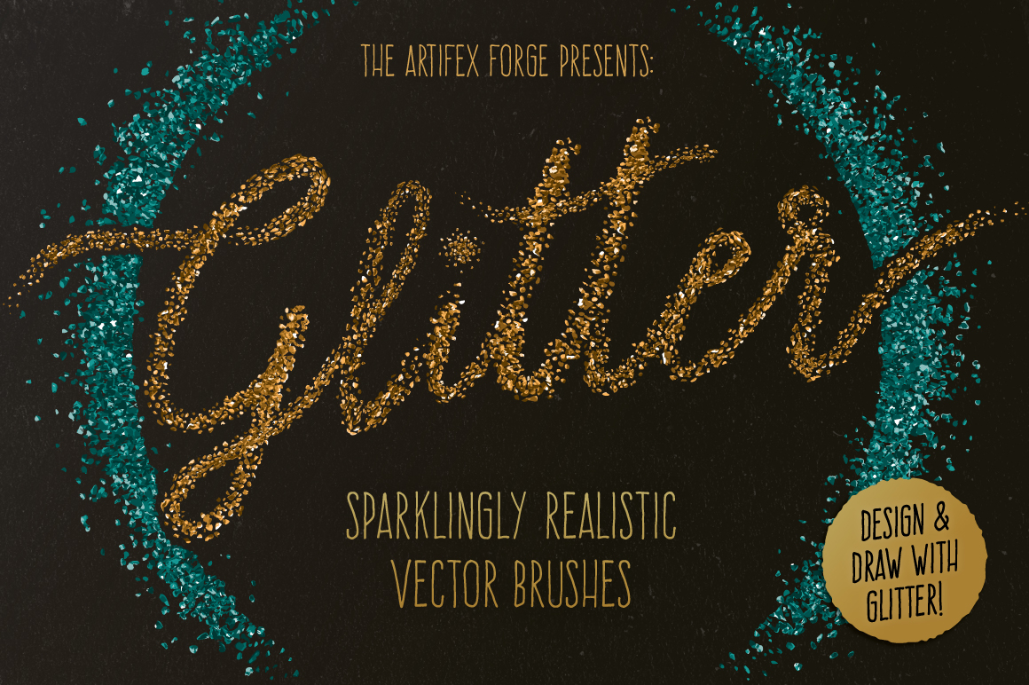 Glitter Effect Brushes by The Artifex Forge