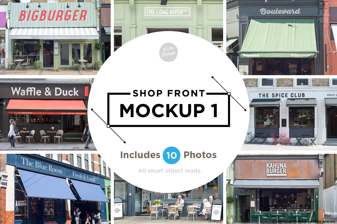 Buy Shop Front Mockups by It's me simon