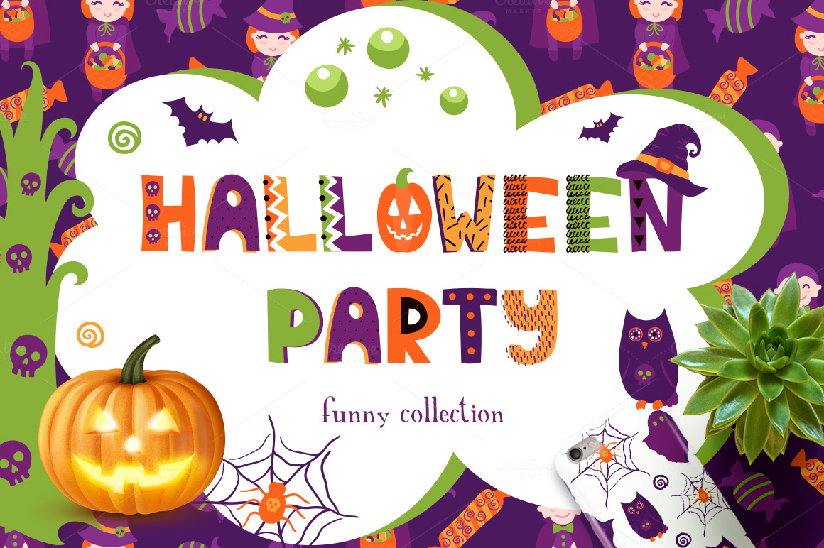 Halloween Party Collection by Qilli