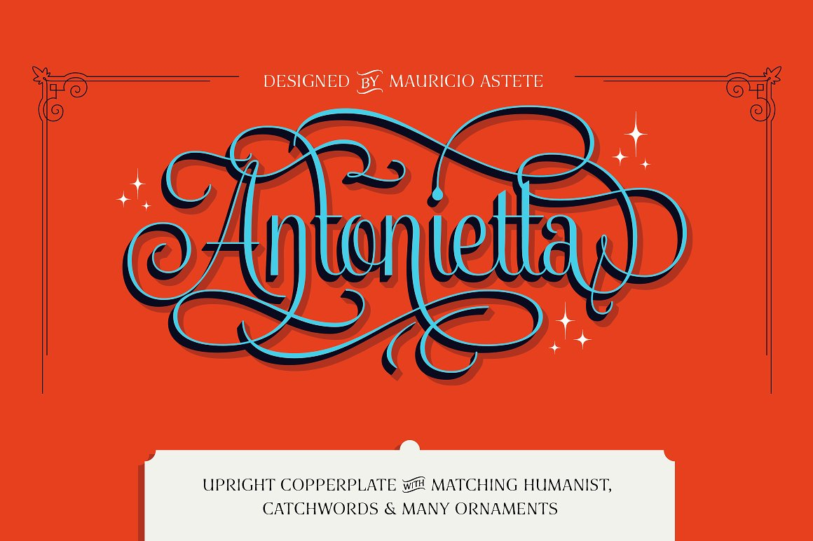 Antonietta Complete Family 70% off by Latinotype