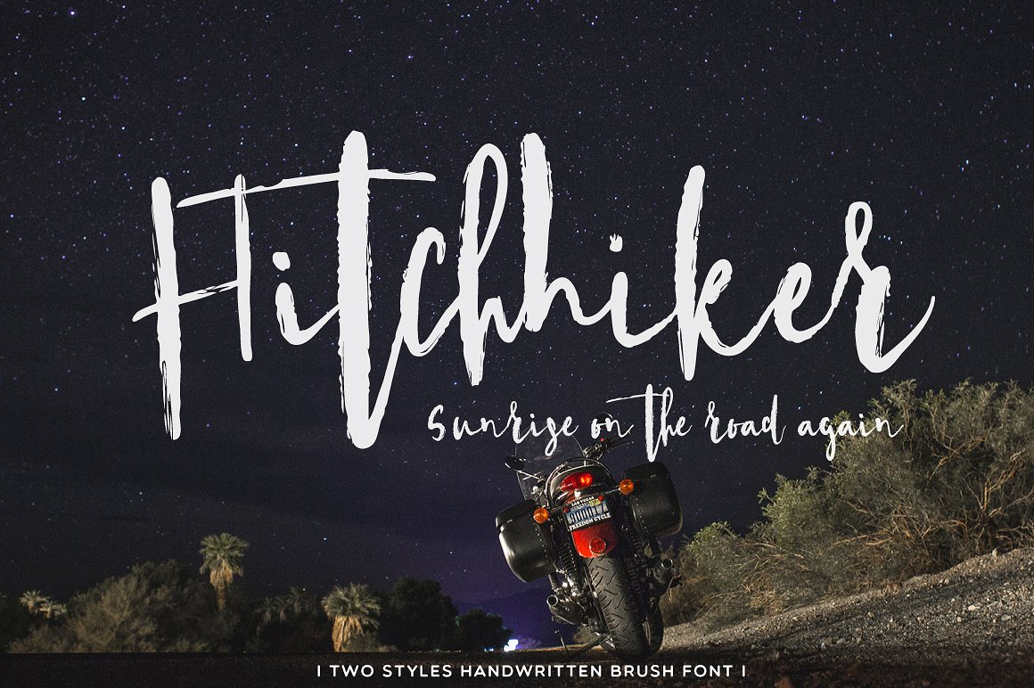 Hitchhiker Font by Mellow Design Lab