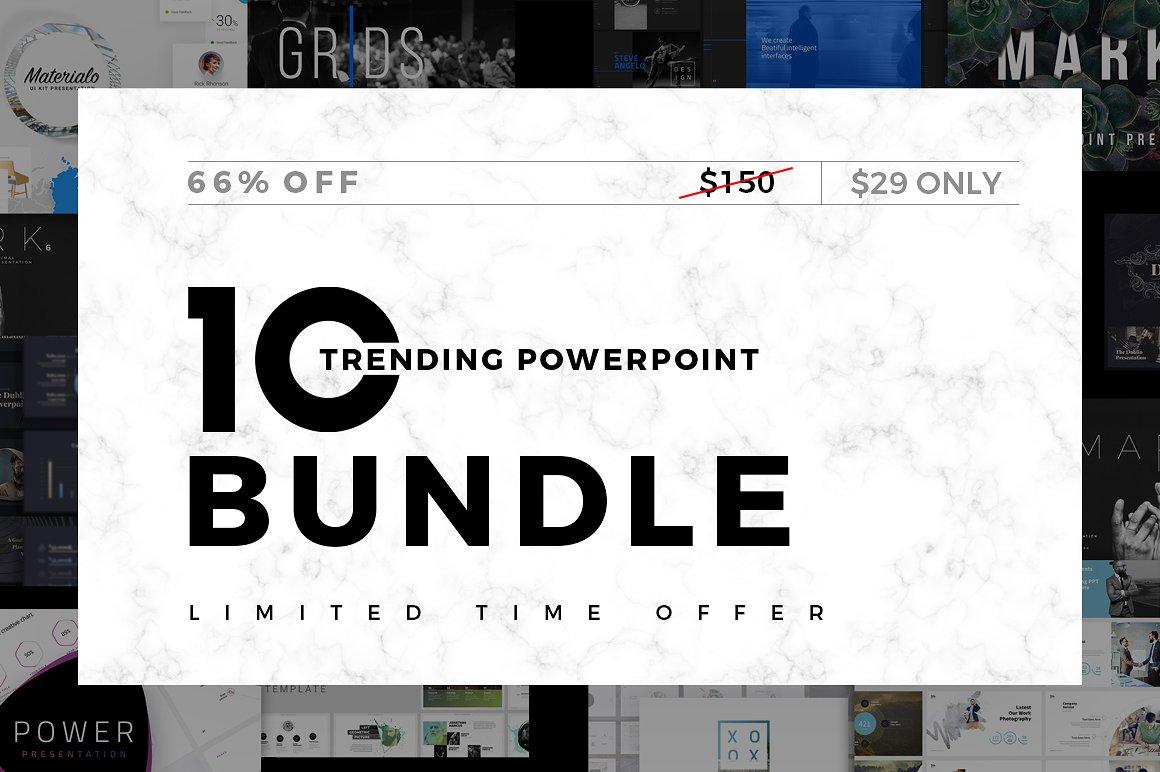 Trending-Minimal Powerpoint Bundle by Dublin Design