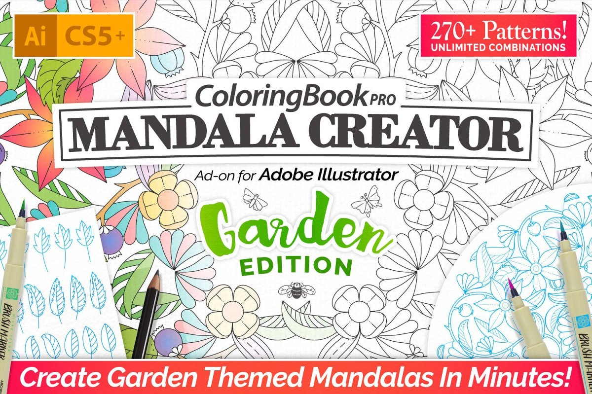 Coloring Book Pro - Garden Edition by everdrifter