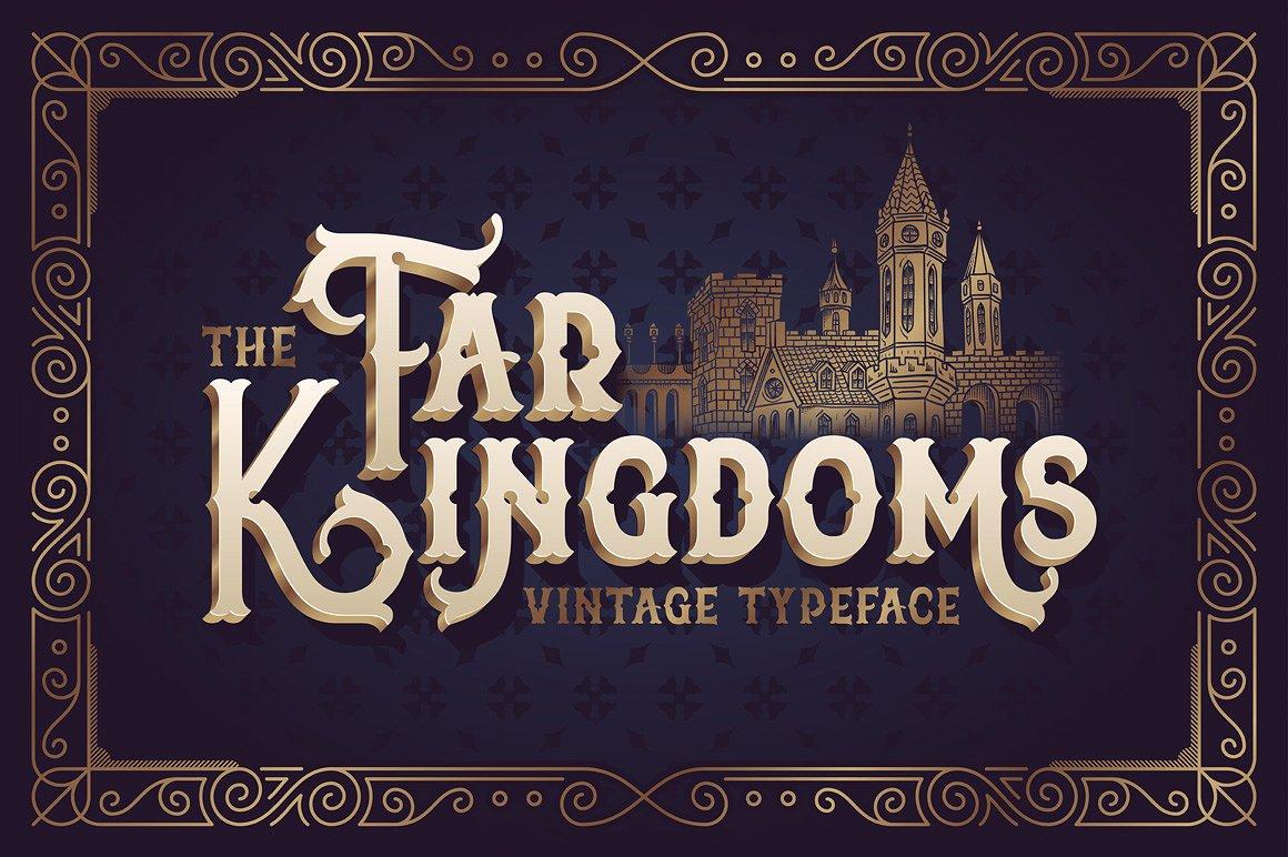 The Far Kingdoms font by Gleb Guralnyk