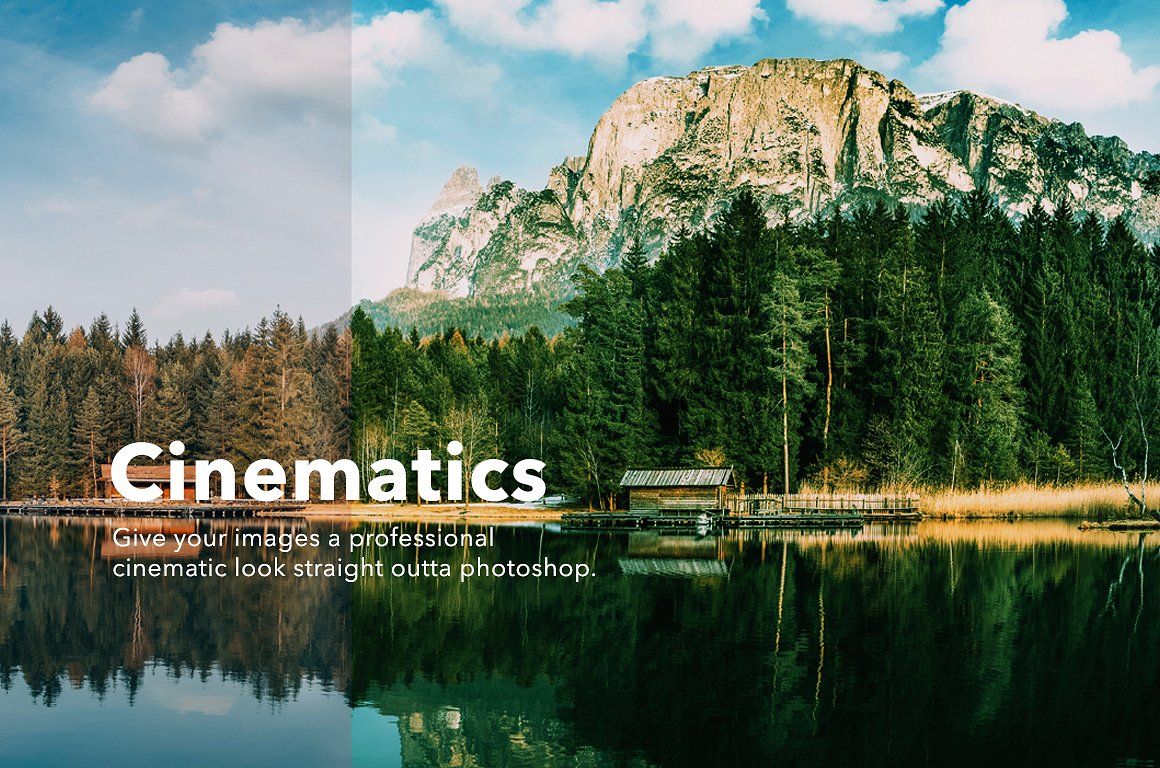 Cinematic Photoshop Actions by GOICHA