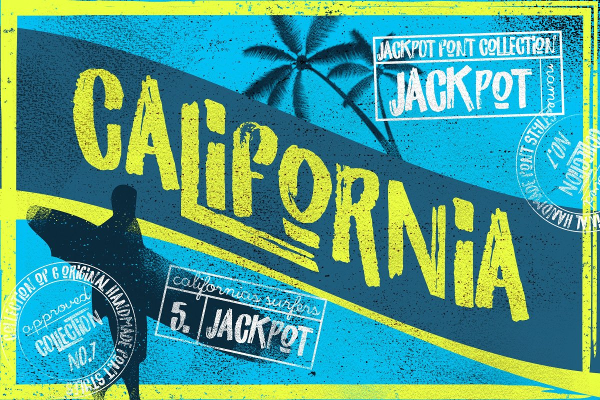 California: The Perfect Surf Font by LeoSupply.co