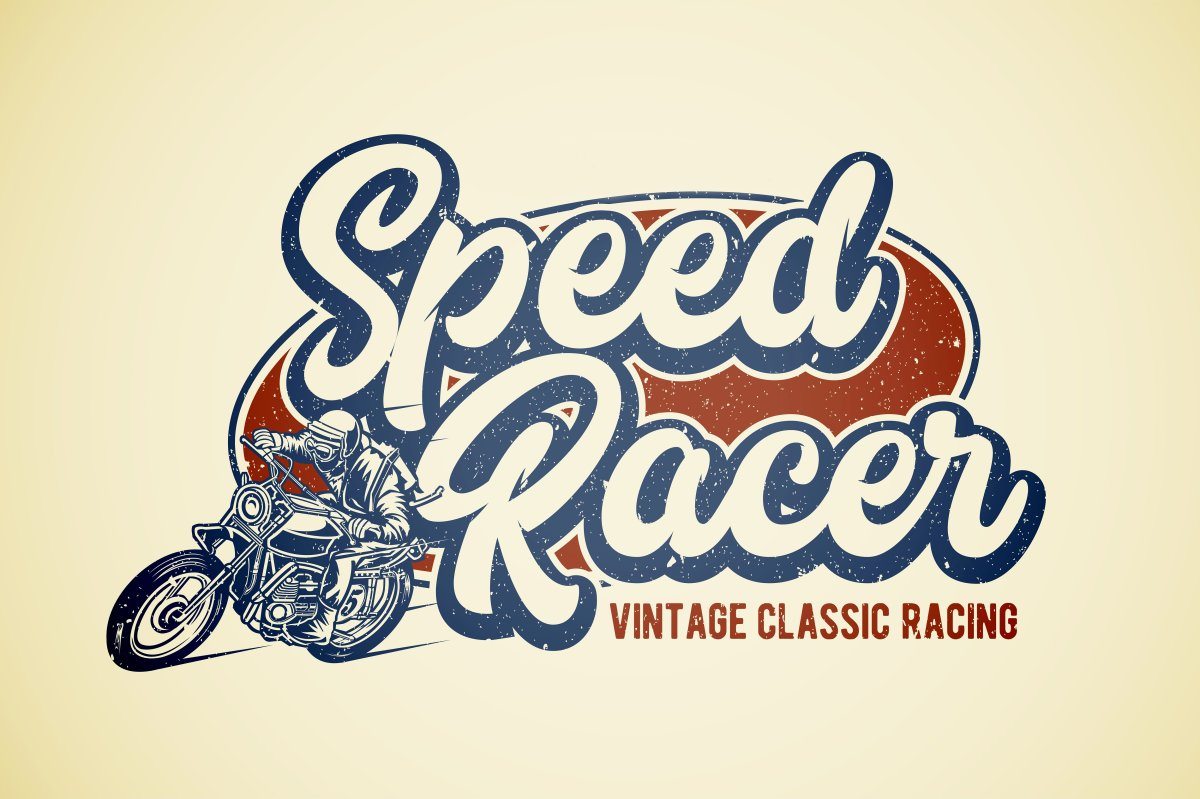 The Speed Racer Font: Marttabuck by letterhend