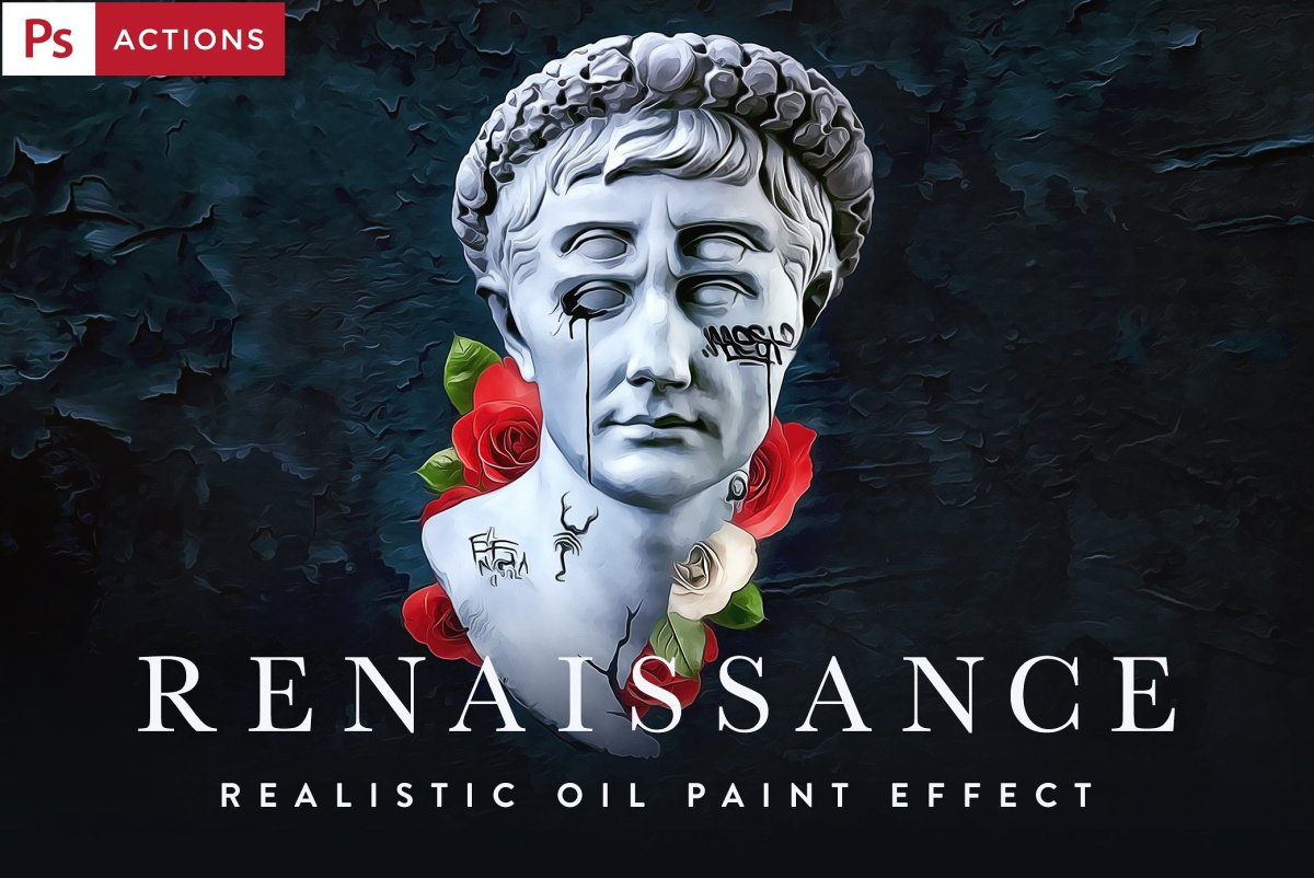 Amazingly Realistic Oil Paint Effects for Photoshop by Forefathers