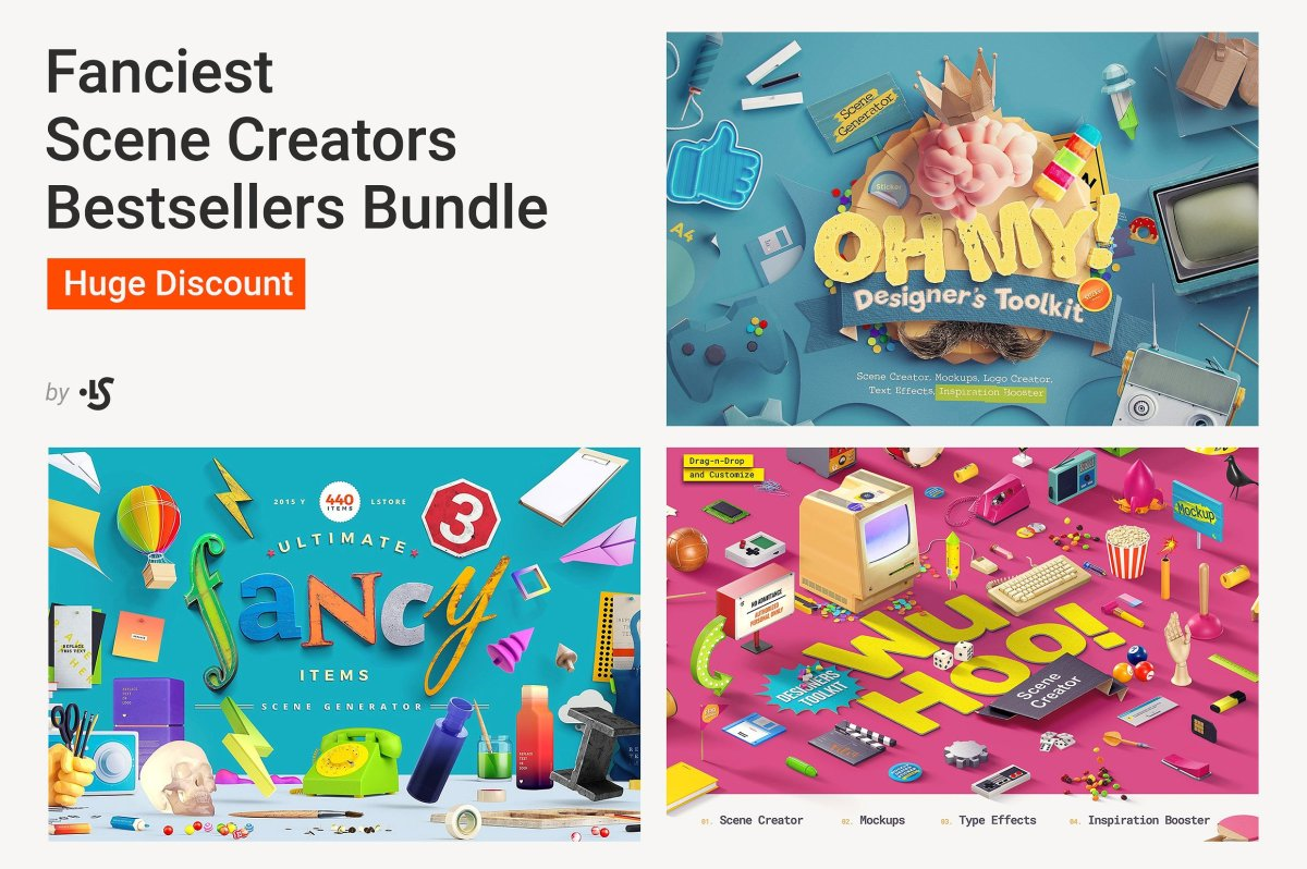 Best-Selling Scene Creators Bundle by LS