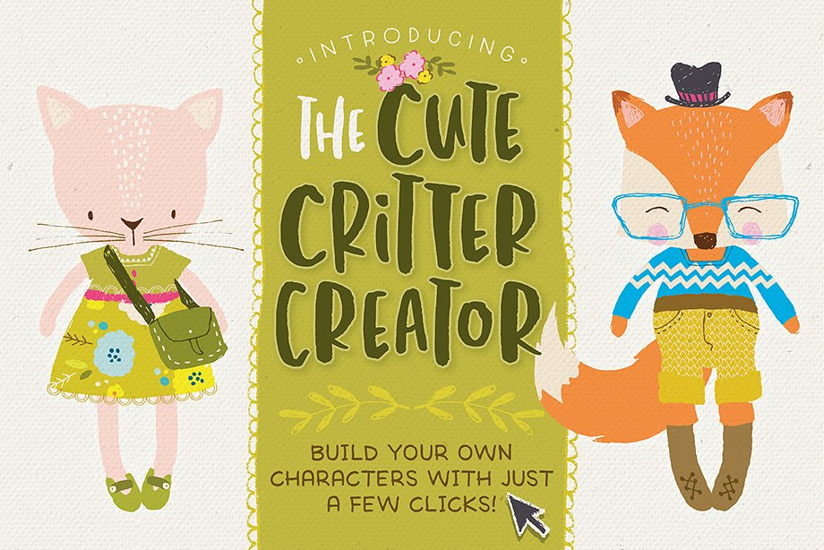 The Cute Critter Creator by Lisa Glanz