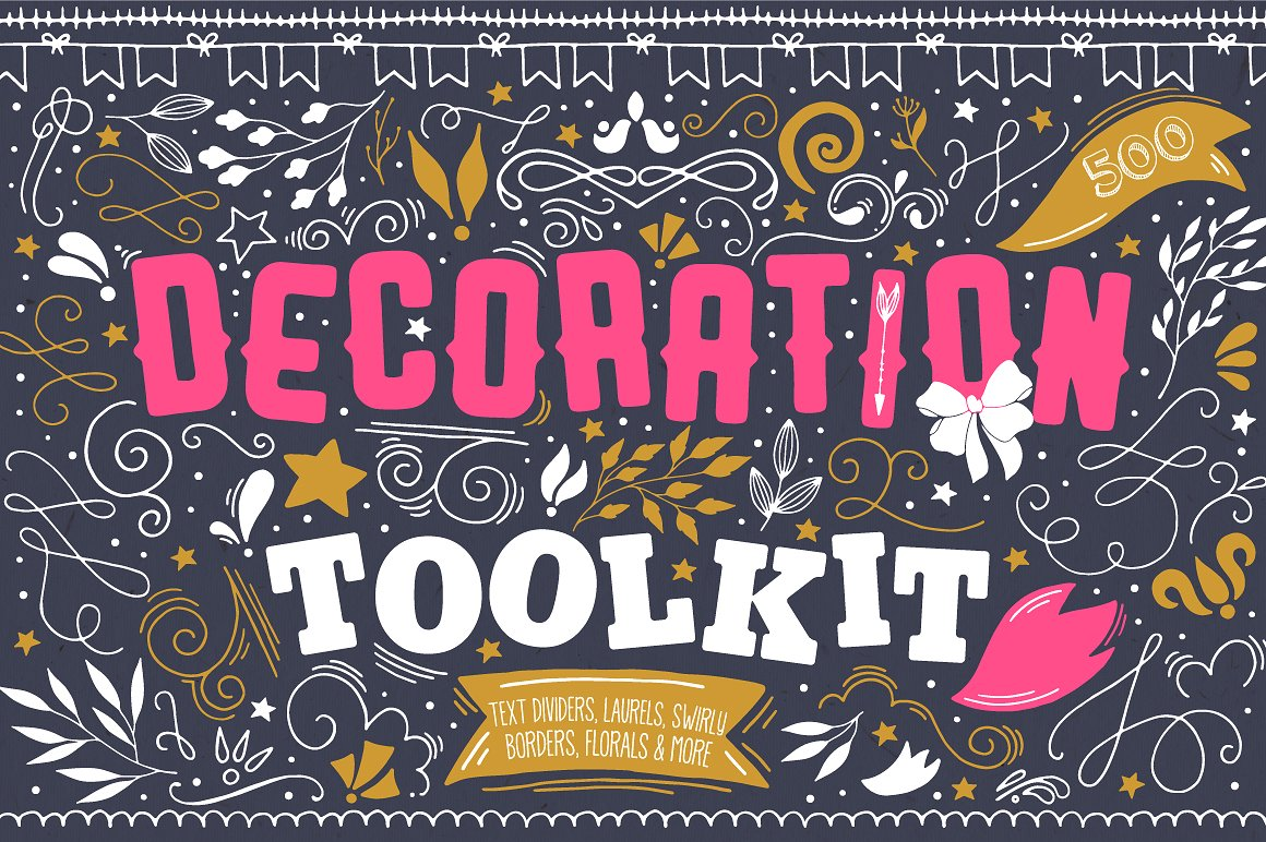 The Cute Decoration Toolkit by Julia Dreams