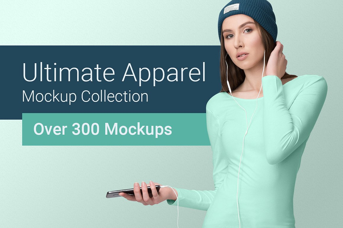 The Ultimate Apparel Mockup Collection by Mockup Cloud