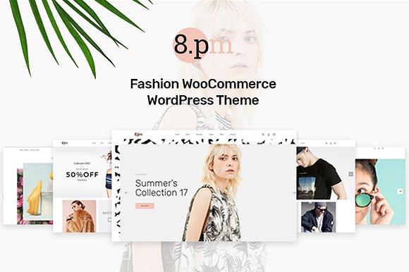 Fashion Themed Wordpress Templates by Opal Wordpress