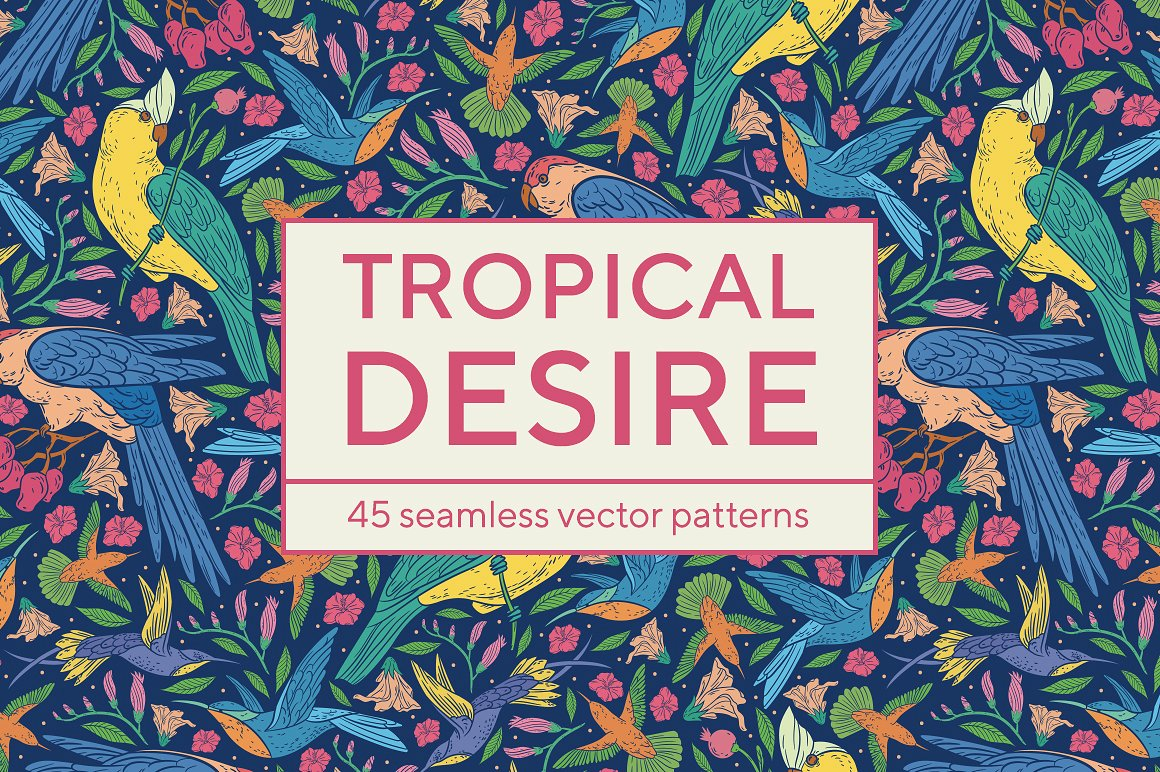 Repeatable Tropical Patterns by Piñata
