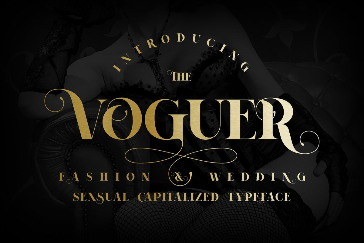 Voguer - The Sophisticated Wedding Font by NREY